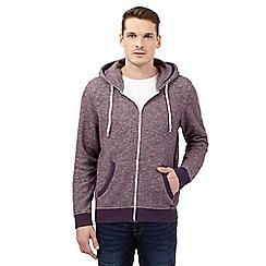 Red Herring - Purple speckled hoodie