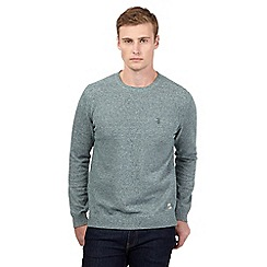 St George by Duffer - Green twist jumper