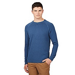 Red Herring - Mid blue crew neck jumper