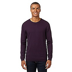 Red Herring - Purple crew neck jumper