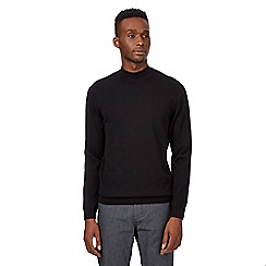 Red Herring - Black polo neck jumper