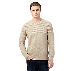 Red Herring - Natural multi texture jumper