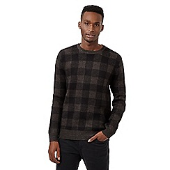 Red Herring - Black buffalo check jumper