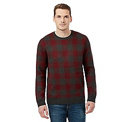 Red Herring - Red buffalo check jumper