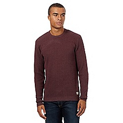 St George by Duffer - Red waffle top