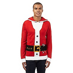 Red Herring - Red Father Christmas costume jumper