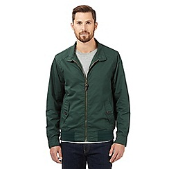 Red Herring - Big and tall green harrington jacket