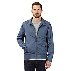 Red Herring - Big and tall light blue harrington jacket
