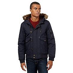 Red Herring - Navy short parka jacket
