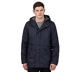 Red Herring - Navy zipped jacket