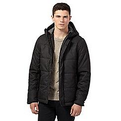 Red Herring - Dark grey hooded coat