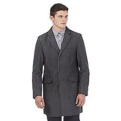 Red Herring - Grey wool blend epsom jacket