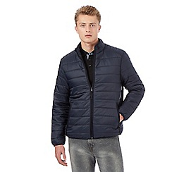 Red Herring - Big and tall navy padded jacket