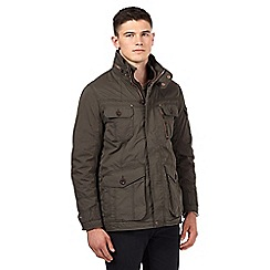 St George by Duffer - Big and tall khaki field big and tall jacket
