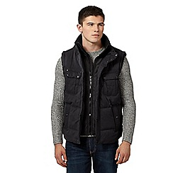 Red Herring - Black utility style gilet