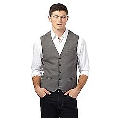Red Herring - Grey jersey waistcoat