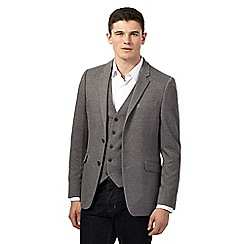 Red Herring - Grey smart jersey blazer jacket