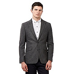 Red Herring - Grey herringbone tweed jacket