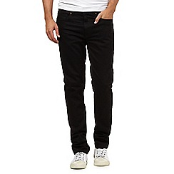 Red Herring - Big and tall black skinny leg jeans