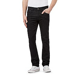 Red Herring - Big and tall black slim sit denim jeans