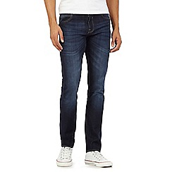 Red Herring - Dark blue skinny fit mid wash jeans