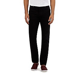 Red Herring - Big and tall black slim leg jeans
