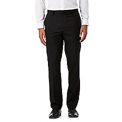 Red Herring - Black slim smart trousers