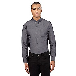 Red Herring - Grey button down collar shirt