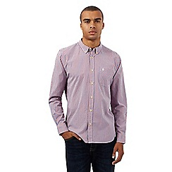 St George by Duffer - Red regular fit shirt