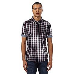 Red Herring - Navy checked shirt