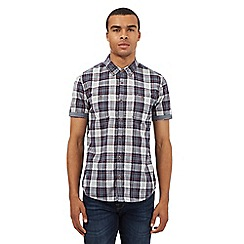 Red Herring - Red checked print shirt