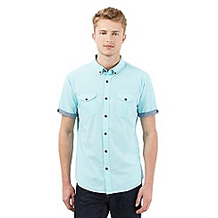 Red Herring - Light turquoise short sleeved shirt