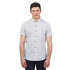 Red Herring - White circle print short sleeve shirt