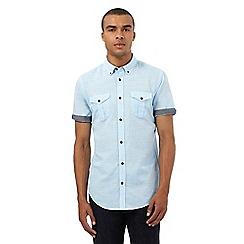 Red Herring - Light blue striped regular fit shirt