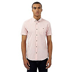 Red Herring - Pink striped print shirt