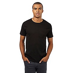 Red Herring - Black ribbed front panel t-shirt