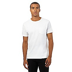 Red Herring - White ribbed front panel t-shirt