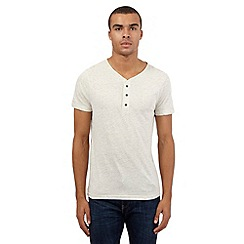 Red Herring - Dark cream basic t-shirt