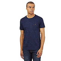 Red Herring - Navy space dyed t-shirt