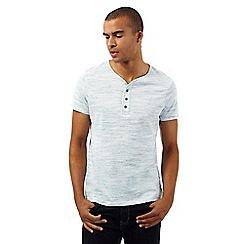 Red Herring - Light blue space dye t-shirt