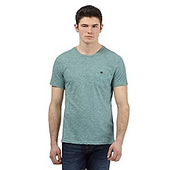 Red Herring - Green textured t-shirt