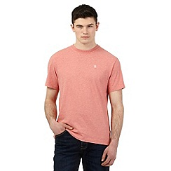 St George by Duffer - Pink logo embroidered t-shirt