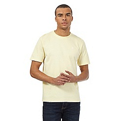 St George by Duffer - Big and tall yellow logo t-shirt