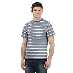 St George by Duffer - Navy striped t-shirt