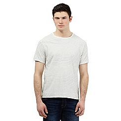 Red Herring - White striped print t-shirt