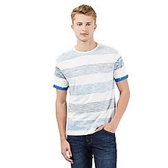 Red Herring - Blue striped print t-shirt