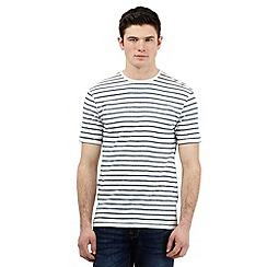 Red Herring - Grey striped print t-shirt