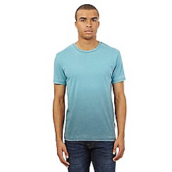 Red Herring - Turquoise burnout t-shirt