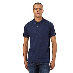 Red Herring - Navy space dye polo shirt