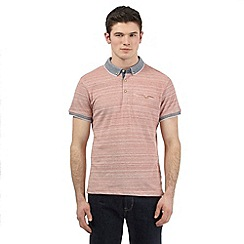 Red Herring - Red striped polo shirt